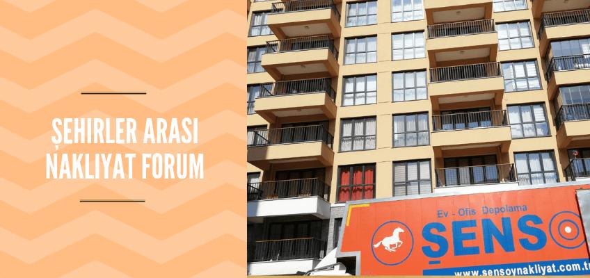Şehirler Arası Nakliyat Forum
